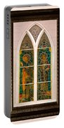 Saints In The Window Portable Battery Charger