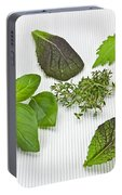 Salad Greens And Spices Portable Battery Charger