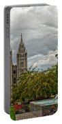Salt Lake City Temple Grounds Portable Battery Charger