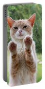 Salute Cat Portable Battery Charger