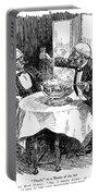 Samuel Clemens Cartoon Portable Battery Charger