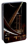San Diego Lights At Night Portable Battery Charger