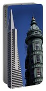 San Francisco Buildings Portable Battery Charger