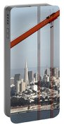San Francisco Through The Cables Portable Battery Charger