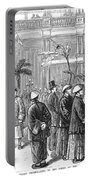 San Fransisco Hotel, 1878 Portable Battery Charger