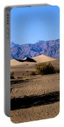 Sand Dunes In Death Valley Portable Battery Charger