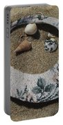 Sand On A Half Shell Portable Battery Charger