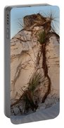 Sand Pedestal With Yucca Portable Battery Charger