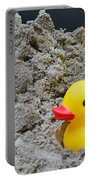 Sand Pile And Ducky Portable Battery Charger