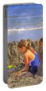Sandy Fingers Sandy Toes Portable Battery Charger