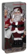 Santa Couple Portable Battery Charger