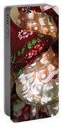 Santa Glass Ornament Portable Battery Charger