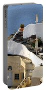 Santorini Terrace Portable Battery Charger