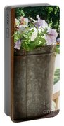 Sap Bucket Planter Portable Battery Charger
