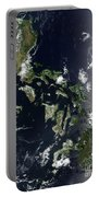 Satellite Image Of The Philippines Portable Battery Charger
