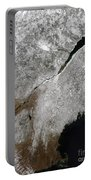 Satellite View Of A Frosty Landscape Portable Battery Charger by Stocktrek Images