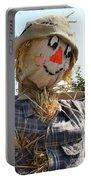 Scarecrow Farmer Portable Battery Charger