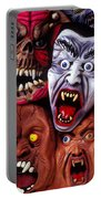 Scary Halloween Masks Portable Battery Charger