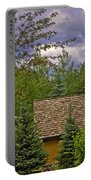 Scene Through The Trees - Vail Portable Battery Charger