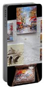 Scenes Of Paris For Sale Portable Battery Charger