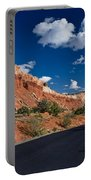 Scenic Drive Through Capitol Reef National Park Portable Battery Charger
