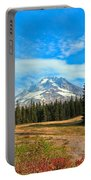 Scenic Mt. Hood In Oregon Portable Battery Charger
