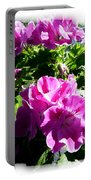 Scented Geraniums Portable Battery Charger