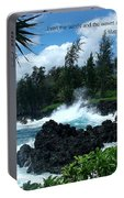 Scripture And Picture Matthew 8 27 Portable Battery Charger