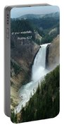 Scripture And Picture Psalms 42 7 Portable Battery Charger