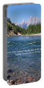 Scripture And Picture Revelation 22 1 Portable Battery Charger