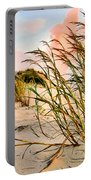 Sea Oats And Dunes Portable Battery Charger by Kristin Elmquist