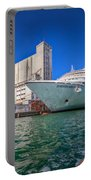 Seabourn Sojourn In Copenhagen. Portable Battery Charger