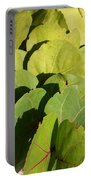 Seagrape Leaf Layer Portable Battery Charger