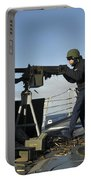 Seaman Fires A .50 Caliber Machine Gun Portable Battery Charger