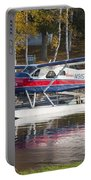 Seaplane On Moosehead Lake In Maine Canvas Photo Poster Print Portable Battery Charger