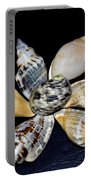 Seashell Floral Portable Battery Charger