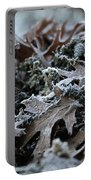 Seaweed And Oak Leaves Portable Battery Charger