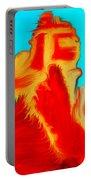 Sedona Hills - Fire At Sunset - Arizona Portable Battery Charger