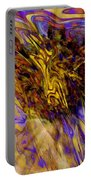 Seize The Day - Abstract Art Portable Battery Charger