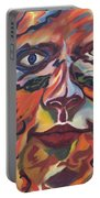 Self Portrait - Map Of Life Portable Battery Charger