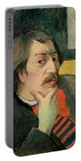 Self Portrait Portable Battery Charger by Paul Gauguin