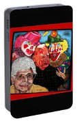 Send In The Clowns Portable Battery Charger