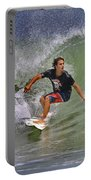 September Ponce Inlet Surfer Portable Battery Charger