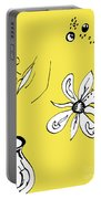 Serenity In Yellow Portable Battery Charger