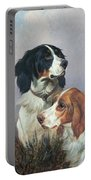 Setters On A Moor Portable Battery Charger by Colin Graeme