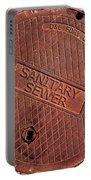Sewer Cover Portable Battery Charger