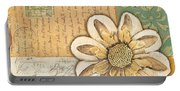 Shabby Chic Floral 2 Portable Battery Charger