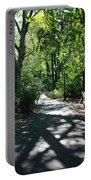 Shaded Paths In Central Park Portable Battery Charger