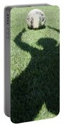 Shadow Playing Football Portable Battery Charger
