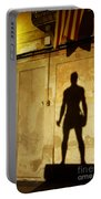 Shadow Wall Statue Portable Battery Charger